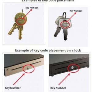Cash Drawer Key