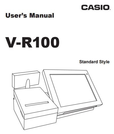 V-R100 Programming