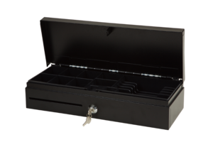 Flip Top Cash Drawer (Black)