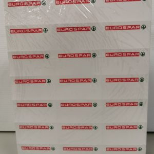 Eurospar 3×7 Shelf Edge Labels