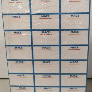 Mace 3×7 Shelf Edge Labels